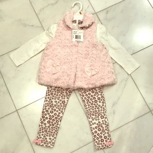 Little Me three piece outfit